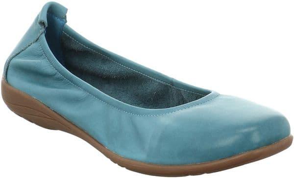 Josef Seibel Fenja 01 Slip On Ladies Shoes Azur